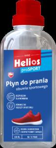 skuteczny i łagodny dla membran płyn do prania obuwia i odzieży sportowej marki Helios